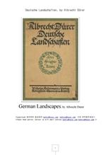 독일 풍경 Deutsche Landschaften