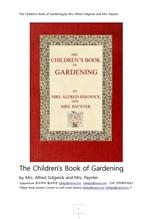 정원가꾸기어린이책.The Children's Book of Gardening.