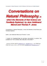 자연철학과 대화.Conversations on Natural Philosophy