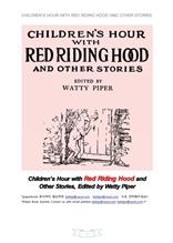 """빨강망토와다른이야기.Children""""s Hour with Red Riding Hood and Other Stories.by Watty Piper"""