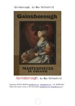 게인스보로그 화가.Gainsborough, by Max Rothschild