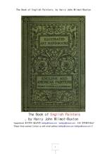 영국및 미국의 화가들.The Book of English Painters, by Harry John Wilmot-Buxton
