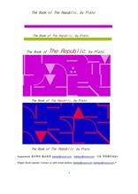 플라톤의 국가론.The Book of The Republic, by Plato