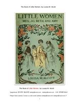 그림이 있는 작은 아씨들.The Book of Little Women,or Meg, Jo, Beth, and Amy by Louisa M. Alcott