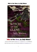 스코틀랜드 계곡의 마녀.Witch of the Glens, by Sally Watson