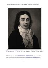 콜리지의 전기문학평전.Biographia Literaria, by Samuel Taylor Coleridge