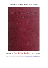 단기금융시장 短期金融市場 .The Book of The Money Market, by F. Straker
