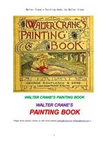 월터크레인의 물감색칠하기 책.Walter Crane's Painting Book, by Walter Crane