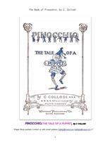 피노키오.The Book of Pinocchio, by C. Collodi