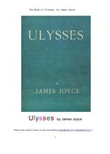 제임스 조이스의 율리시스.The Book of Ulysses, by James Joyce