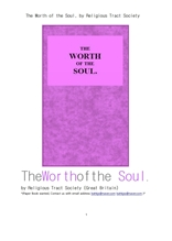 기독교 정신의 가치.The Worth of the Soul, by Religious Tract Society