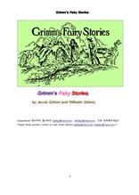 그림형제의 동화 이야기책.Grimm's Fairy Stories,by Jacob Grimm and Wilhelm Grimm