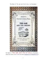 오크나무와 브리오니식물.The Book of The oak and the briony, by Anonymous