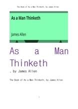 위대한 생각의 힘.The Book of As a Man Thinketh, by James Allen