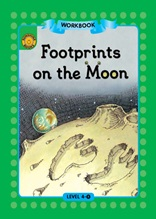 Footprints on the Moon - Sunshine Readers Level 4