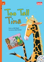 Too Tall Tina - Rainbow Readers 2