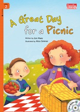 A Great Day for a Picnic - Rainbow Readers 2