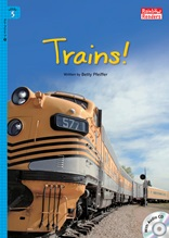 Trains! - Rainbow Readers 5